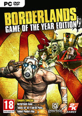 Carátula Borderlands GOTY