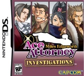 Carátula Ace Attorney Investigations: Miles Edgeworth