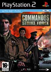 Caratula Commandos Strike Force