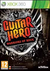 Carátula Guitar Hero: Warriors of Rock
