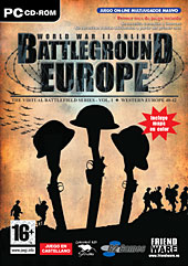 Caratula Battleground Europe
