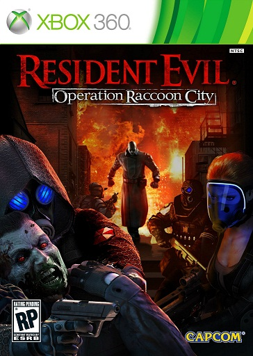 Caratula Resident Evil: Operation Raccoon City