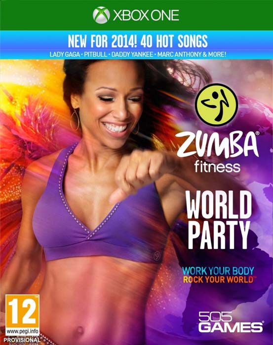 Caratula Zumba Fitness World Party