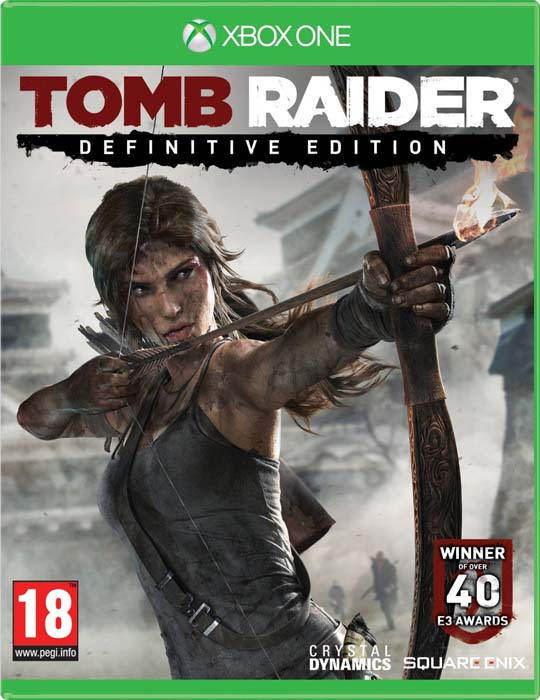Caratula Tomb Raider - Definitive Edition