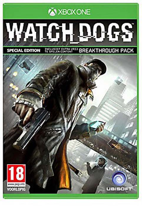 Caratula Watch Dogs